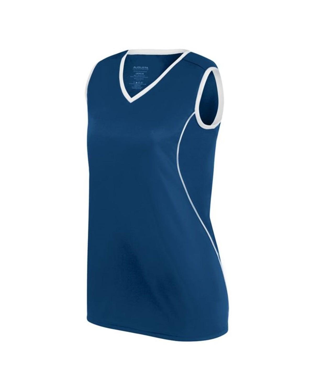 1675 Augusta Sportswear NAVY/ WHITE