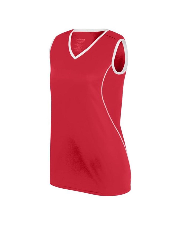 1675 Augusta Sportswear RED/ WHITE