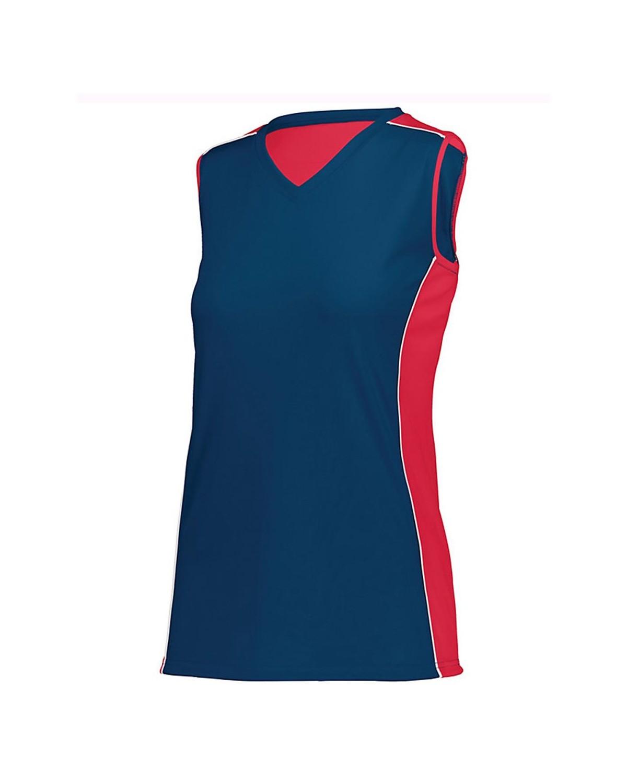 1677 Augusta Sportswear NAVY/ RED/ WHITE