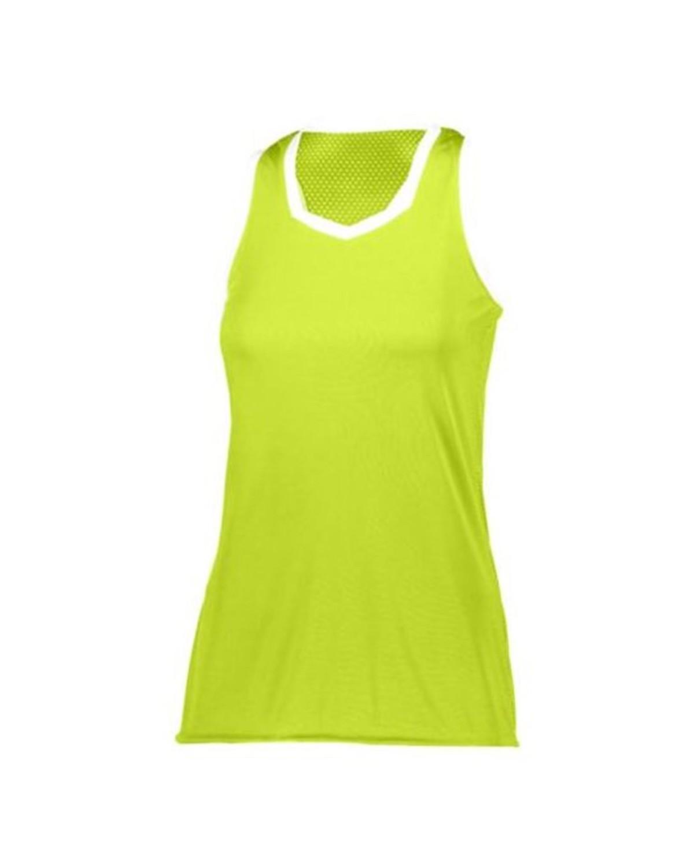 1678 Augusta Sportswear LIME/ WHITE