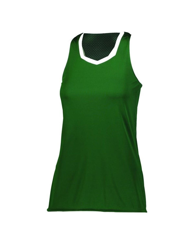 1678 Augusta Sportswear Dark Green/ White