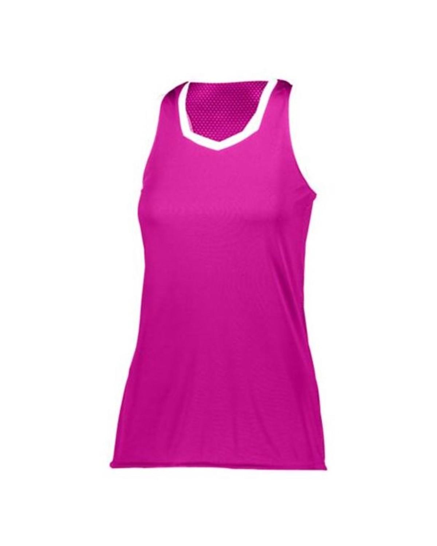 1678 Augusta Sportswear Power Pink/ White