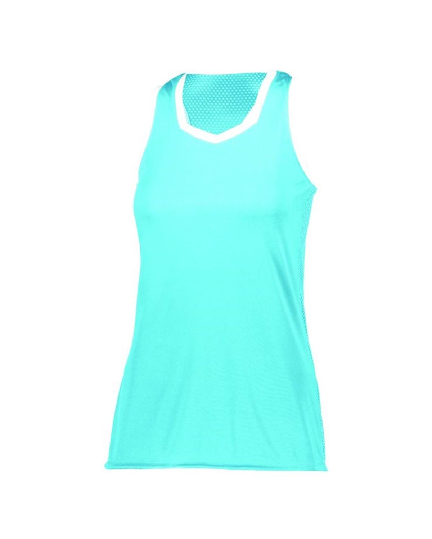 1679 Augusta Sportswear AQUA/ WHITE