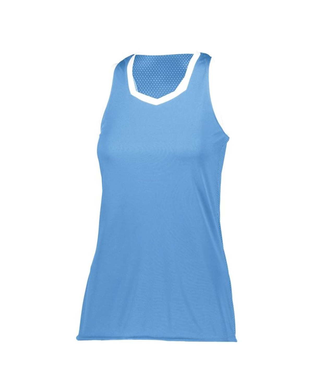 1679 Augusta Sportswear Columbia Blue/ White