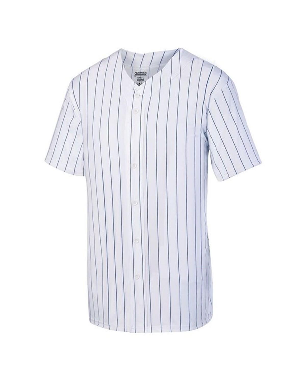 1685 Augusta Sportswear WHITE/ NAVY