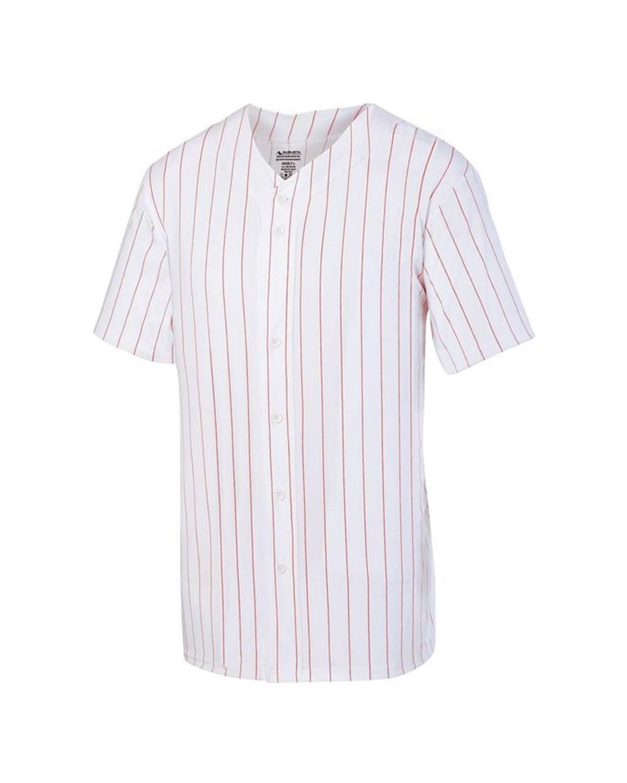 1685 Augusta Sportswear WHITE/ RED