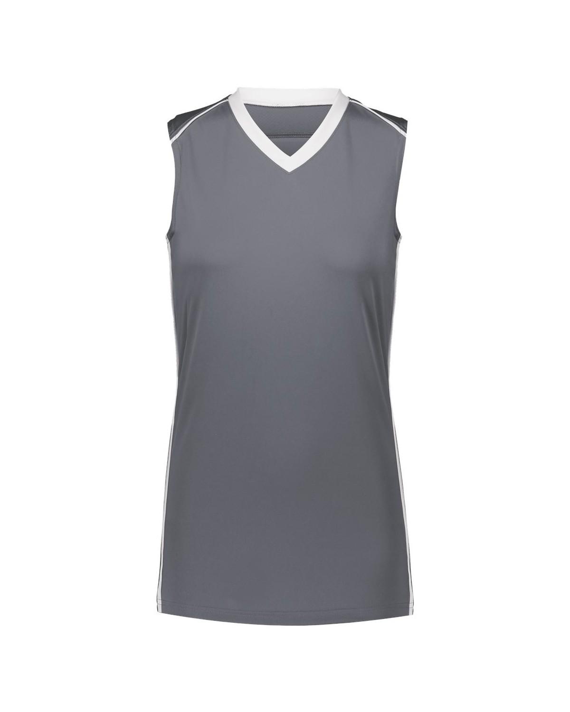 1688 Augusta Sportswear GRAPHITE/ WHITE
