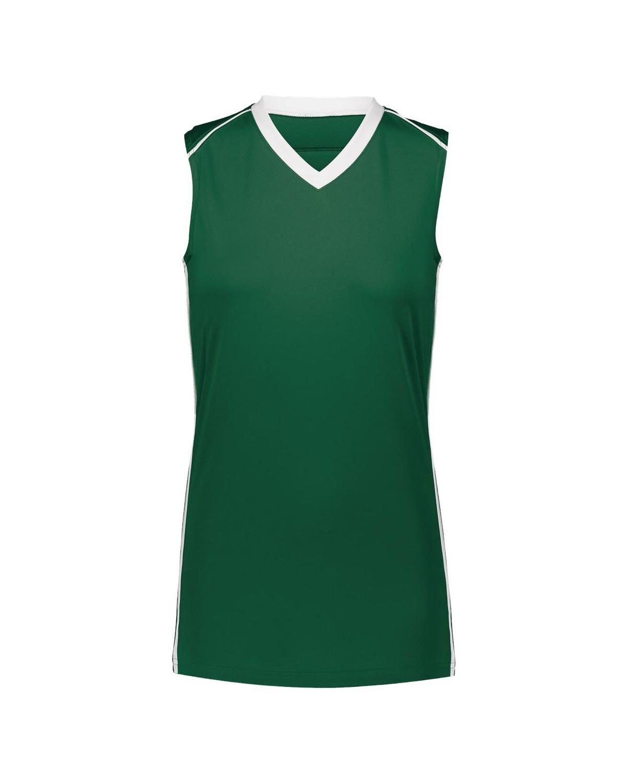 1688 Augusta Sportswear Dark Green/ White