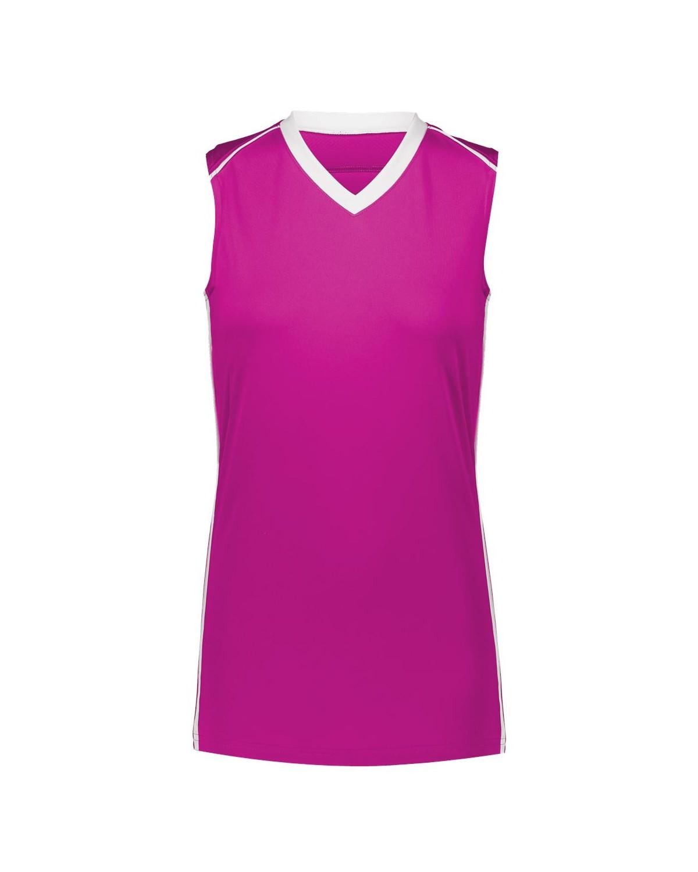 1688 Augusta Sportswear Power Pink/ White