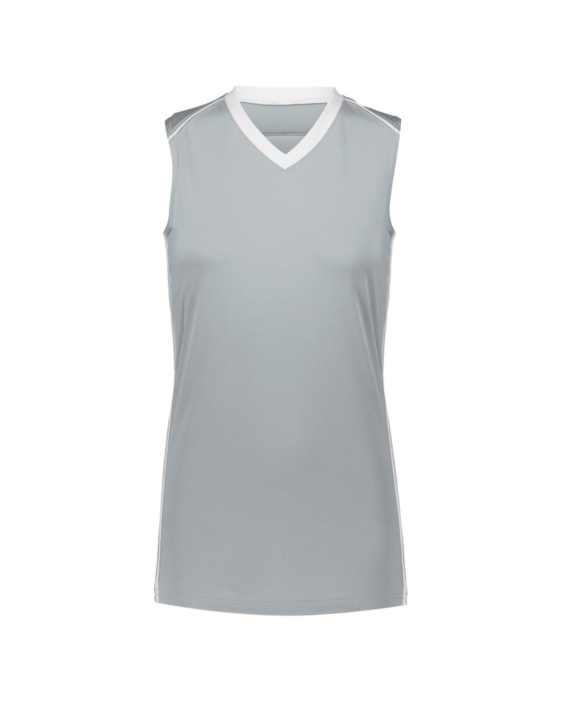 1688 Augusta Sportswear SILVER/ WHITE