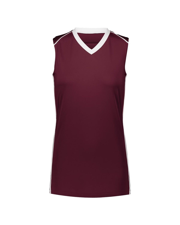 1688 Augusta Sportswear MAROON/ WHITE