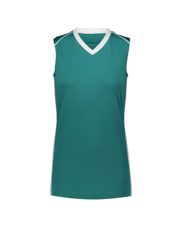 1688 Augusta Sportswear Teal/ White