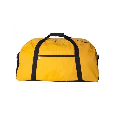 1703 Augusta Sportswear 1703 Large Ripstop Duffel Bag GOLD/ BLACK