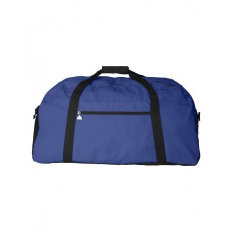 1703 Augusta Sportswear 1703 Large Ripstop Duffel Bag ROYAL/ BLACK