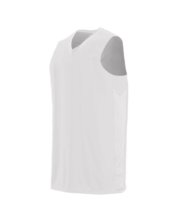 1712 Augusta Sportswear WHITE/ WHITE