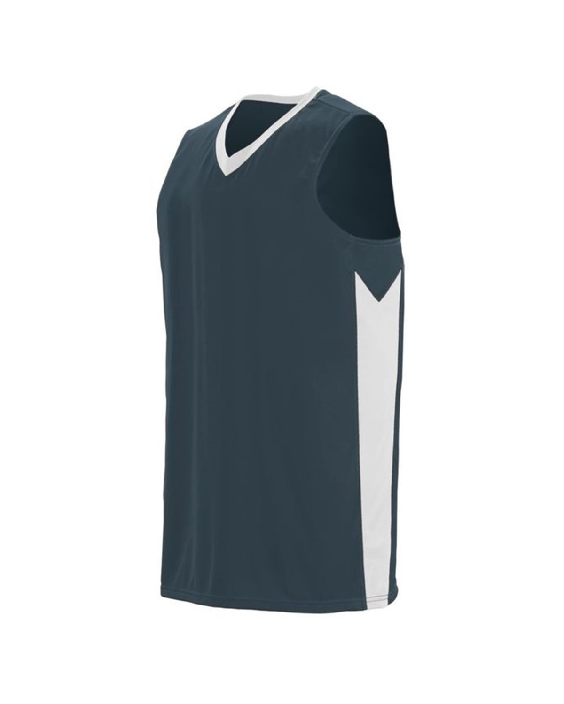 1712 Augusta Sportswear Slate/ White