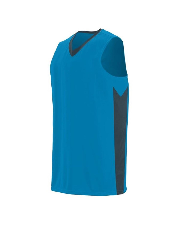 1712 Augusta Sportswear Power Blue/ Slate