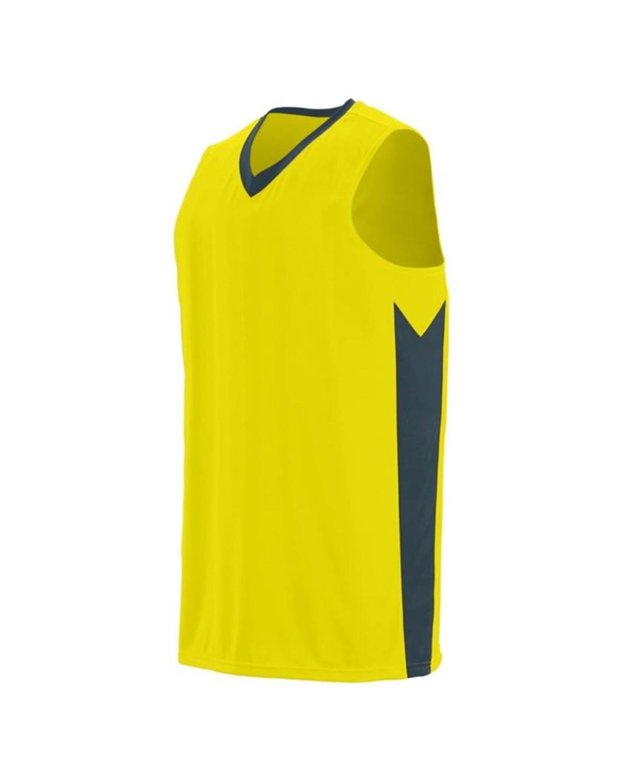 1712 Augusta Sportswear Power Yellow/ Slate