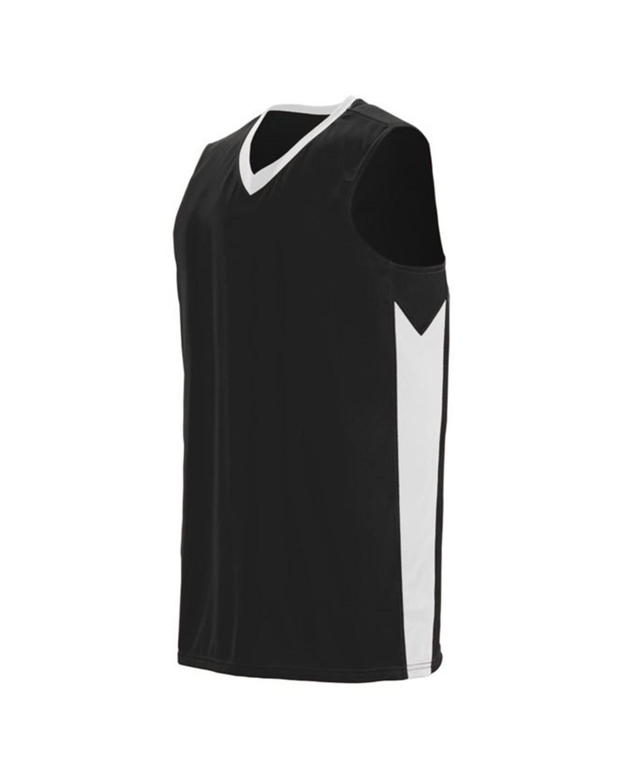 1712 Augusta Sportswear BLACK/ WHITE