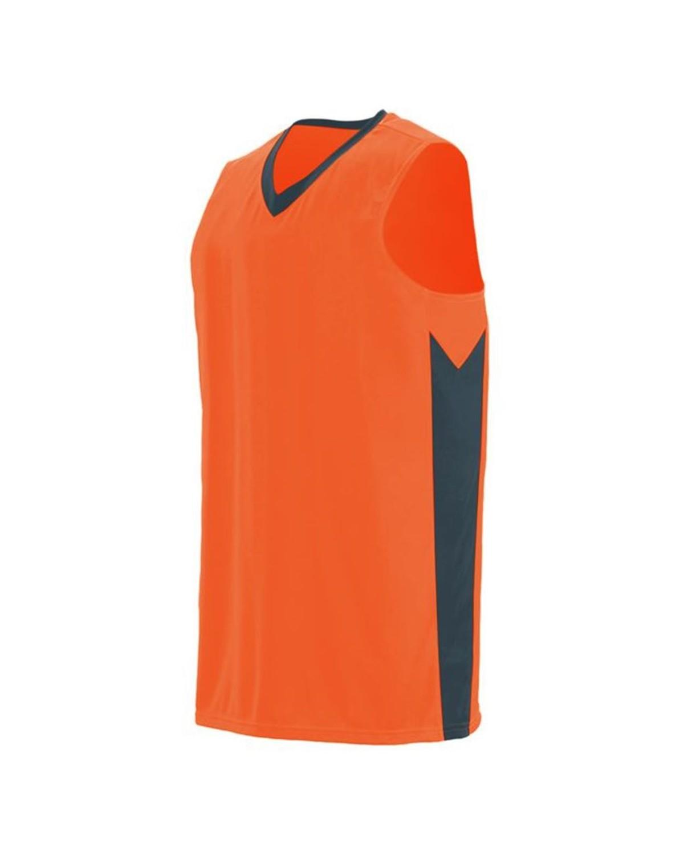 1712 Augusta Sportswear Power Orange/ Slate