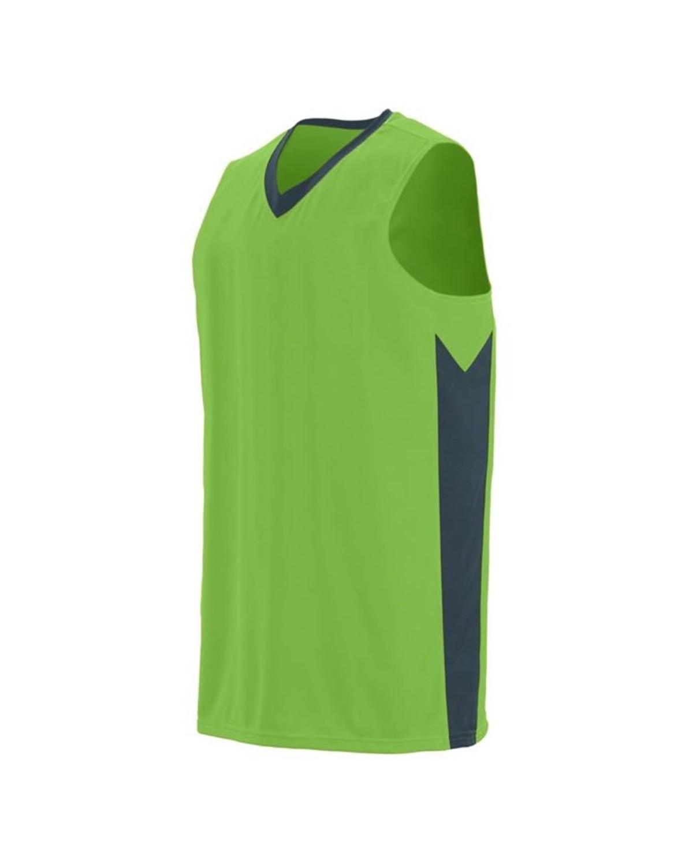 1713 Augusta Sportswear Lime/ Slate