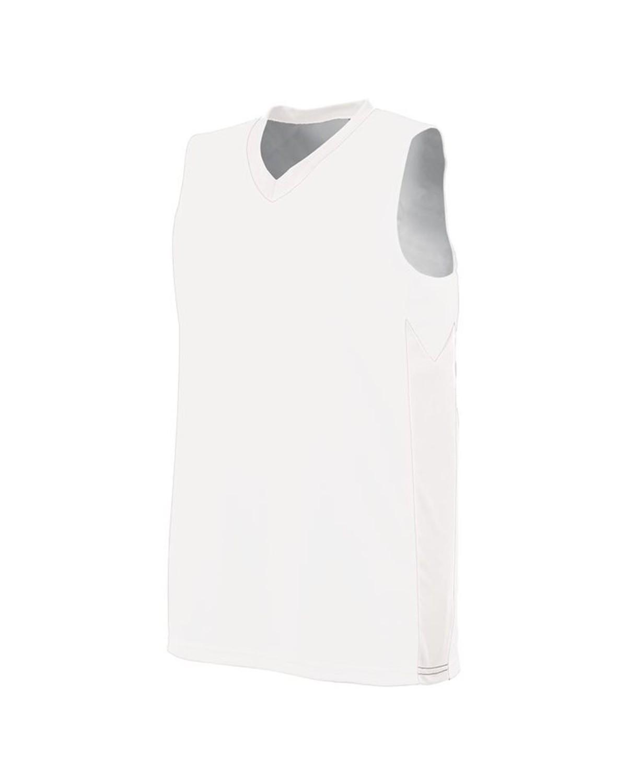 1714 Augusta Sportswear WHITE/ WHITE