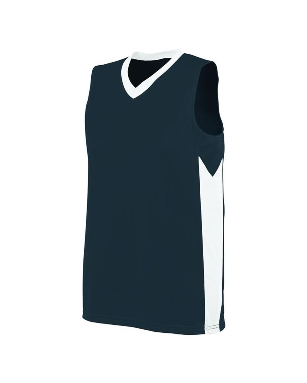 1714 Augusta Sportswear Slate/ White