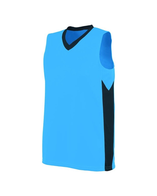 1714 Augusta Sportswear Power Blue/ Slate