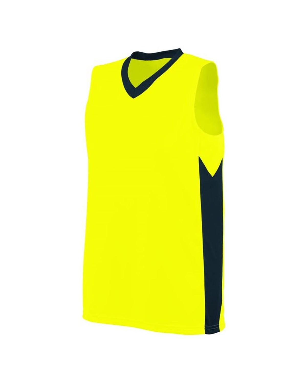 1714 Augusta Sportswear Power Yellow/ Slate