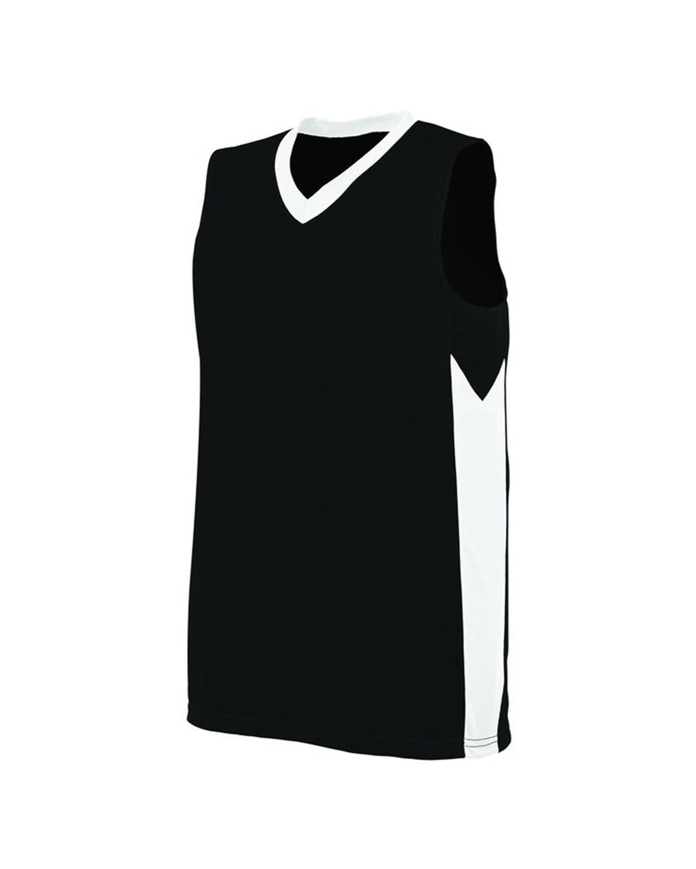 1714 Augusta Sportswear BLACK/ WHITE