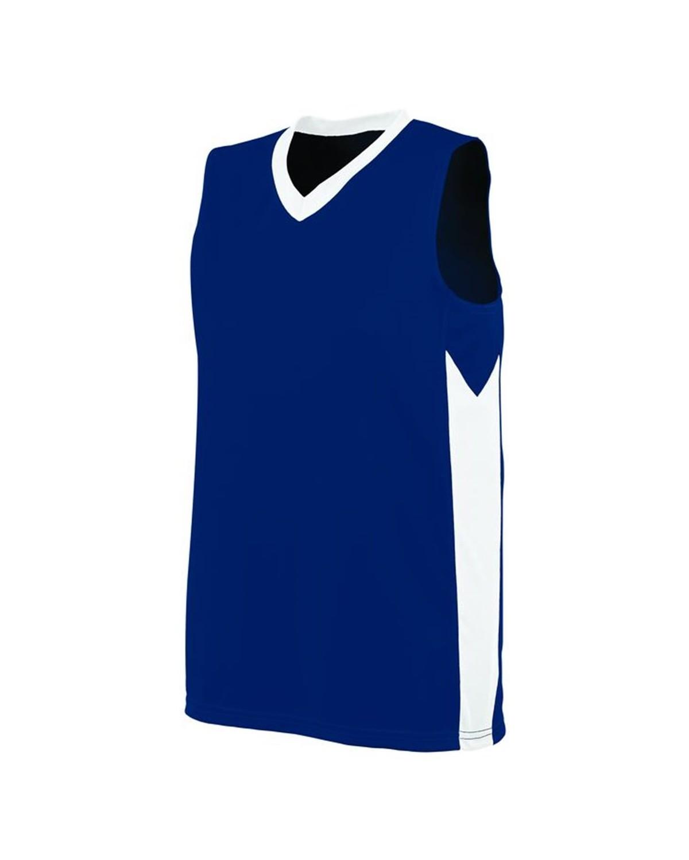 1714 Augusta Sportswear NAVY/ WHITE