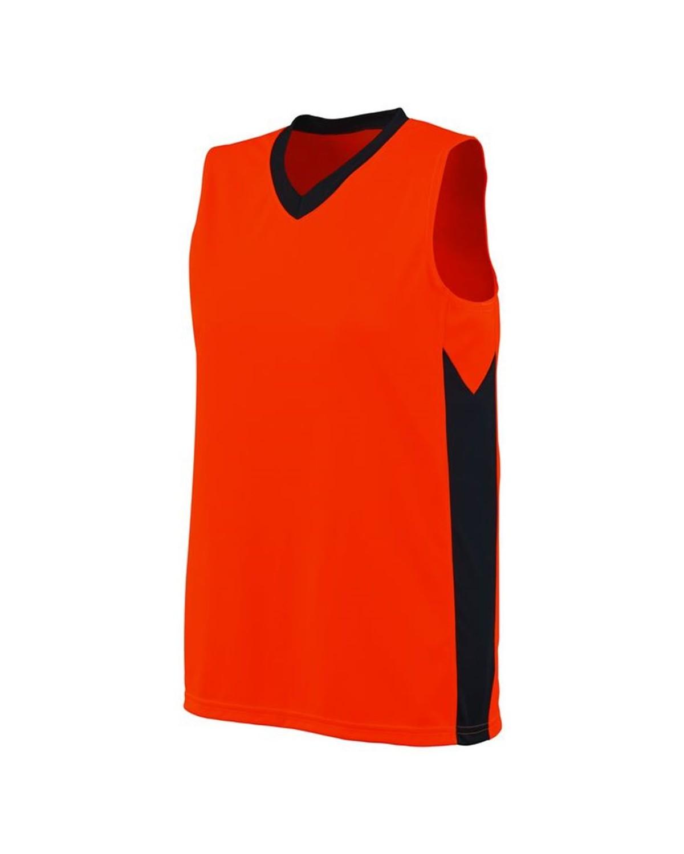 1714 Augusta Sportswear Power Orange/ Slate