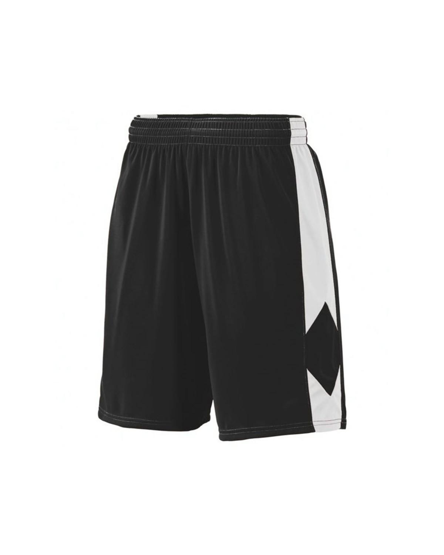 1715 Augusta Sportswear BLACK/ WHITE