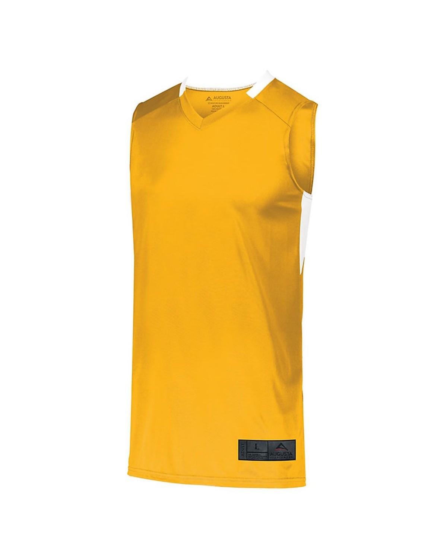 1730 Augusta Sportswear GOLD/ WHITE