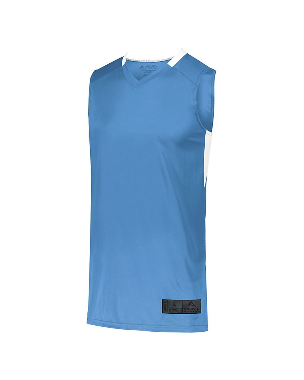1730 Augusta Sportswear Columbia Blue/ White