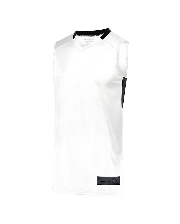1730 Augusta Sportswear WHITE/ BLACK