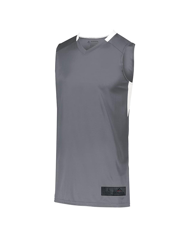 1731 Augusta Sportswear GRAPHITE/ WHITE