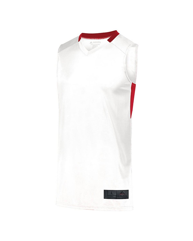 1731 Augusta Sportswear WHITE/ RED