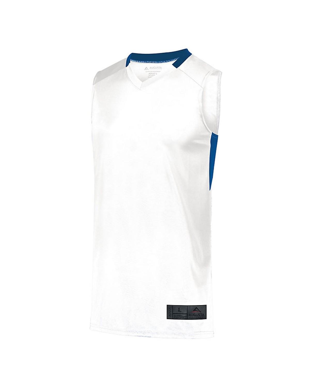 1731 Augusta Sportswear WHITE/ ROYAL