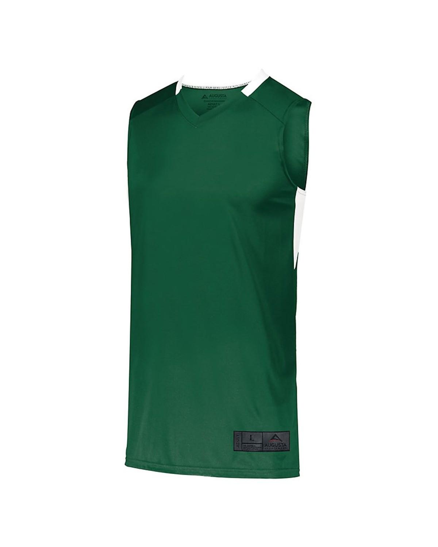1731 Augusta Sportswear Dark Green/ White