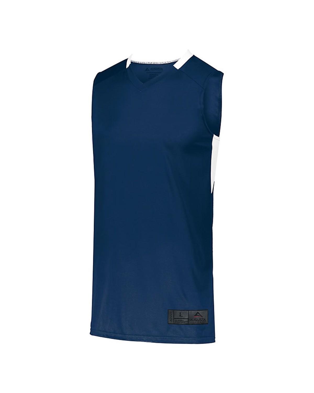 1731 Augusta Sportswear NAVY/ WHITE