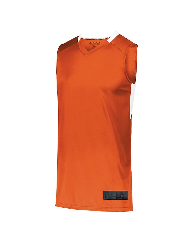 1731 Augusta Sportswear ORANGE/ WHITE