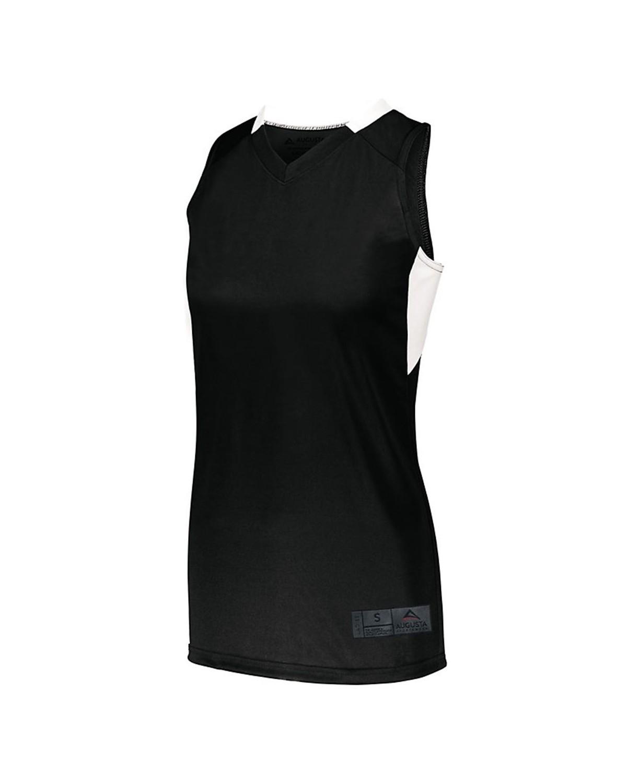 1732 Augusta Sportswear BLACK/ WHITE