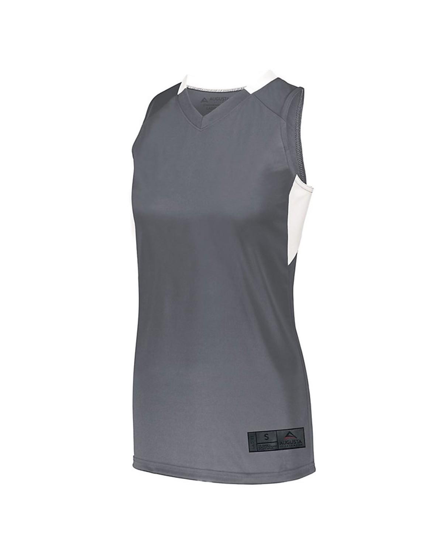 1732 Augusta Sportswear GRAPHITE/ WHITE