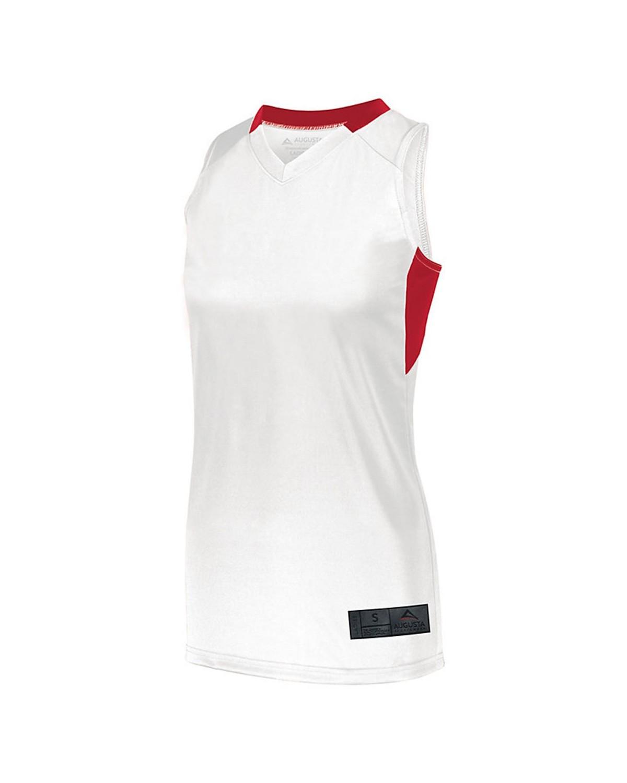 1732 Augusta Sportswear WHITE/ RED