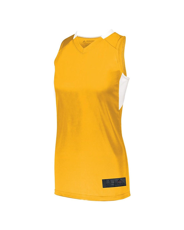 1732 Augusta Sportswear GOLD/ WHITE