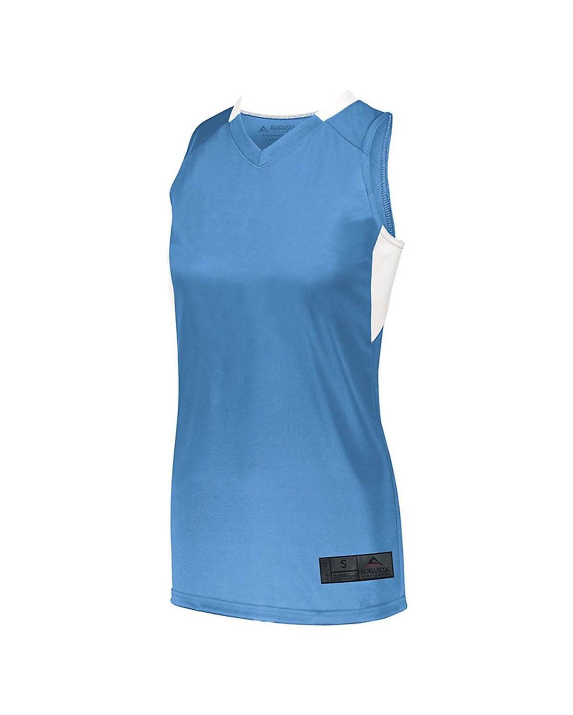 1732 Augusta Sportswear Columbia Blue/ White