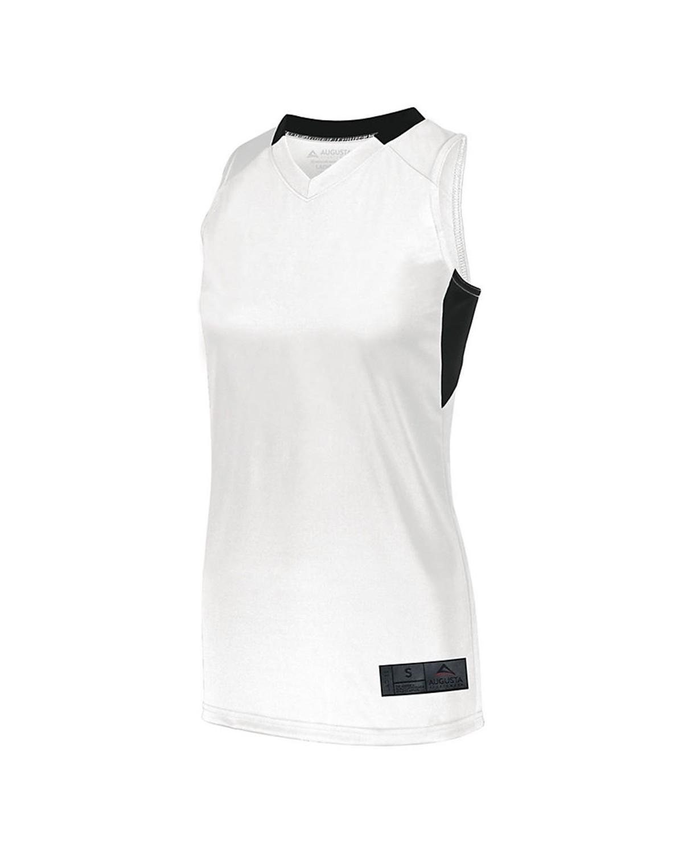 1732 Augusta Sportswear WHITE/ BLACK
