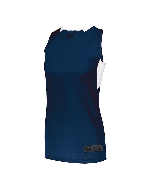 1732 Augusta Sportswear NAVY/ WHITE