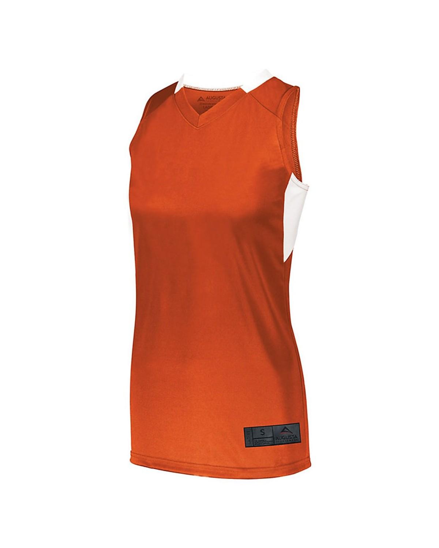 1732 Augusta Sportswear ORANGE/ WHITE